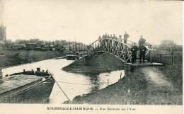 Rousbrugge-Haringhe                Vue Générale Sur L´Yser         Animée Militaires - Poperinge