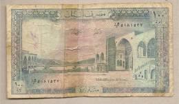 Libano - Banconota Circolata Da 100 Livres - Libano