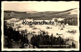 ALTE AK HARRACHSDORF RIESENGEBIRGE Harrachov Krkonose Karkonosze Sudetengau Sudeten Stempel Sport-Lehrgang Harrachsdorf - Sudeten