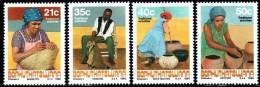 Bophuthatswana - 1990 Traditional Crafts Set (**) # SG 243-246 , Mi 248-251 - Bophuthatswana