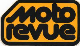MAGAZINE-MOTO REVUE - Adesivi