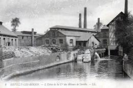 CPA 76 (Seine Maritime)   DEVILLE Les ROUEN  L'USINE DE LA Cie Des METAUX De DEVILLE - France