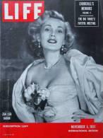Magazine LIFE - NOVEMBER 5 , 1951 - INTERNATIONAL EDITION -              (2998) - Nouvelles/ Affaires Courantes