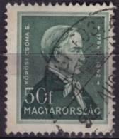 1930´s - Hungary - Sándor Kőrösi Csoma - Philologist  Orientalist TIBET - USED - Geography