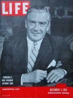 Magazine LIFE - DECEMBER 3 , 1951 - INTERNATIONAL EDITION -              (2999) - Nouvelles/ Affaires Courantes