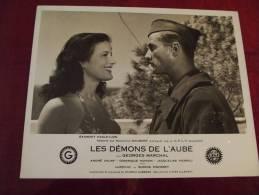 PHOTO DU FILM LES DEMONS DE L AUBE GAUMONT 1946 AVEC GEORGES MARCHAL JACQUELINE PIERREU ETC - Fotos