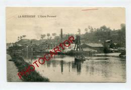 LA BUISSIERE-l'usine PUISSANT-Commerce-Industrie-voyagee En Feldpost Allemande- - Non Classificati