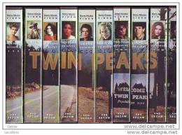 COFFRET DE CASSETTES VIDEO °°° TWIN PEAKS COMPLET - Tv Shows & Series
