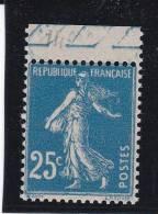 FRANCE SEMEUSE N° 140 S    BORD DE FEUILLE   /    Variété Anneau Lune - LOT 17 - 1906-38 Sower - Cameo