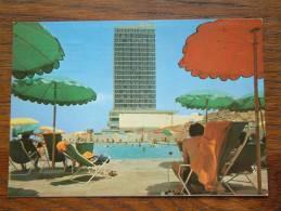 DANIEL TOWER HOTEL Herzlia On Sea ISRAEL / Anno 1976 ( Zie/voir Foto Voor Details ) !! - Hotels & Restaurants