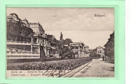 HONGRIE / BUDAPEST / Kiralyi Var - Königliche Burg / Varkert Bazar - Burggarten Bazar - Hongarije