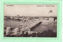 HONGRIE / BUDAPEST / Ersébeth-hid - Elisabeth-Brücke - Hongarije