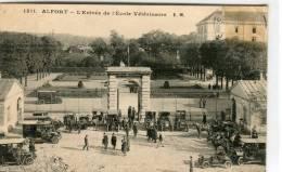 CPA 94  ALFORT L ENTRÉE DE L ECOLE VÉTÉRINAIRE - Alfortville