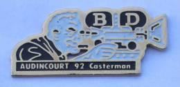 Pin's Festival De La BD AUDINCOURT 1992 - Le Caméraman - Arc 2f  - C030 - BD