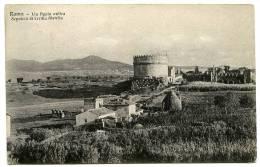 ITALIE : ROMA - VIA APPIA ANTICA, SEPULCRO DI CECILIA METELLA - Altri Monumenti, Edifici