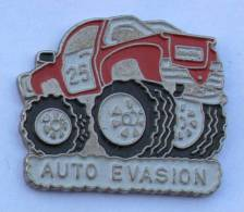 Pin's AUTO EVASION - Le Monster Truck - C068 - Badges