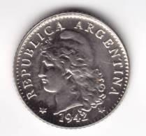 @Y@    ARGENTINIÉ    5  Centavos  1942  UNC  (C530) - Argentine