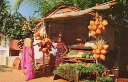 Asie > (Sri Lanka )  A Way-side Fruit Stall  CEYLON ( Ed:Ceylon Pictorials CP-44) *PRIX FIXE - Sri Lanka (Ceylon)