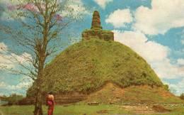 Asie > SRI LANKA - Abhayagiri Dagoba Anuradhapura (Ceylon Pictorials CP-119) Pas De Timbre ( Timbre Décollé)*PRIX FIXE - Sri Lanka (Ceylon)