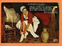 Jean Louis Boncoeur  N° 13 VEILLEES DE CHEZ NOUS  : LA SERVANTE - Costumes