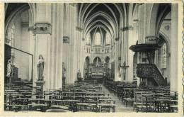 Arendonk :  Binnenzicht OLV Kerk  ( Verso , Sporen Van Ingeplakt Te Zijn ) - Arendonk