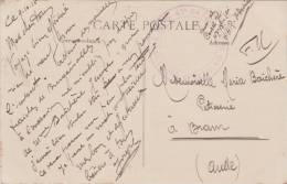 MARQUE MILITAIRE MARCOPHILIE 47 EME BATAILLON DE TIRAILLEURS SENEGALAIS  1916  CACHET - Poststempel (Briefe)