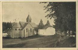Ligneuville : Kirche Mit Durchblick Auf's Hotel  (  Hotel Dumoulin )  Ecrit Avec Timbre - Amel