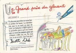 Fiche, Carte, Image CRADOS DES 80'S : Grand Prix Du Gluant Décerné à..., Scott Ché - Autres