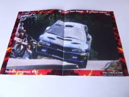 Alt219 Poster Rally De France, Tour De Corse, 2000, Subaru Impreza WRC,  Joseph, Boyere - Corse Di Auto