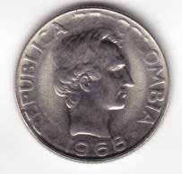 @Y@  Colombia  10 Centavos 1968  UNC    (C536) - Colombie
