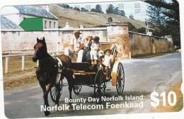 NORFOLK ISL. - Bounty Day, First Issue $10(series No 1 SCC), Tirage %25000, Mint - Norfolk Island