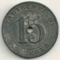 Germany Munchen - 1918 - Notgeld 15 Pfenning - [ 3] 1918-1933 : Repubblica Di Weimar