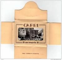 Capri - Napoli - 20 Vere Fotografie 9 X 6,2cms ( 4 Scans ) Italia Italy - Napoli