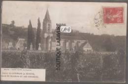 33----SAINT GERMAIN LA RIVIERE---Eglise ST Germain Et Les Vignobles - France
