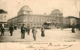 Bruxelles - La Gare Du Nord L.Lagaert - Zonder Classificatie