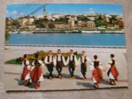 Yugoslavia - Beograd Na Obali Save   KOLO  Serbian Folklore  Group - Costumes Dancers   D93020 - Yugoslavia