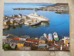 Norway Norge   Hammerfest   Harbour Area - Trondheim Kirkenes  Nordkapp Handstamp   D93067 - Norwegen