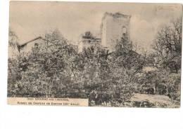33------DAIGNAC---ruines Du Chateau De Curton....--voir  2 Scans - France