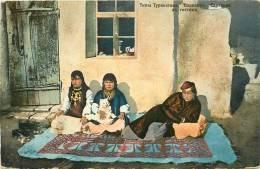 Réf : A -13- 1209  :  Types Du Turkestan Tachkent Sartianki En Visite - Ouzbékistan