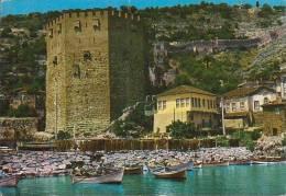 Türkei - Alanya - Red Tower - Nice Stamp - Turquie