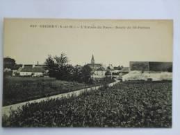 OISSERY ( 77 ) L'ENTREE DU PAYS ROUTE DE SAINT PATHUS  CPA  627 - Otros Municipios