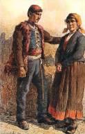 Réf : A -13- 1230  :  Costumes Yougoslaves V. Meneghello-Dincic - Yougoslavie