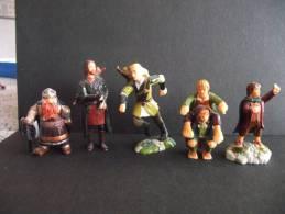 KINDER - Seigneurs Des Anneaux - 6 Personnages - Non Classés