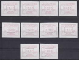 België, 18 **, 01.00-10.00 (ATM001) - ATM - Frama (vignette)