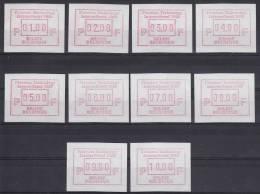 België, 16 **, 01.00-10.00 (ATM001) - ATM - Frama (vignette)