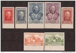 ES559SD-L3952TOT.Spain.DESCUB RIMIENTO DE AMERICA AEREA.Colon. 1930(Ed 559/65s**)SIN DENTAR BORDE DE HOJA - Sellos