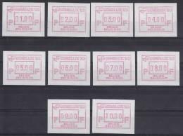 België, 19 **, 01.00-10.00 (ATM001) - ATM - Frama (labels)