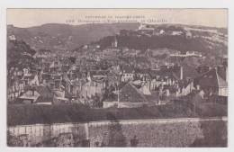 (RECTO / VERSO) BESANCON EN 1914 - N° 380 - VUE GENERALE - LA CITADELLE - BEAUX CACHETS AU VERSO - Besancon