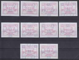 België, 21.1 **, 01.00-10.00 (ATM001) - ATM - Frama (vignette)