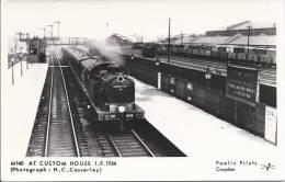 6115 - At  Custom Haus 01.09.1934 - Trains